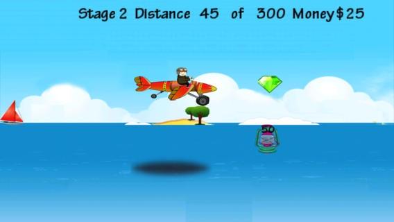 「習慣性飛行機プロ ゲームのフルバージョン - Addictive Airplane Pro Flying Game Full Version」のスクリーンショット 3枚目