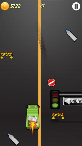 「A Cool Garbage Truck-er Driving Race Game By The Best Top Free Drive-r Games For Crazy Teen-s Girl-s Boy-s & Kid-s Pro」のスクリーンショット 1枚目