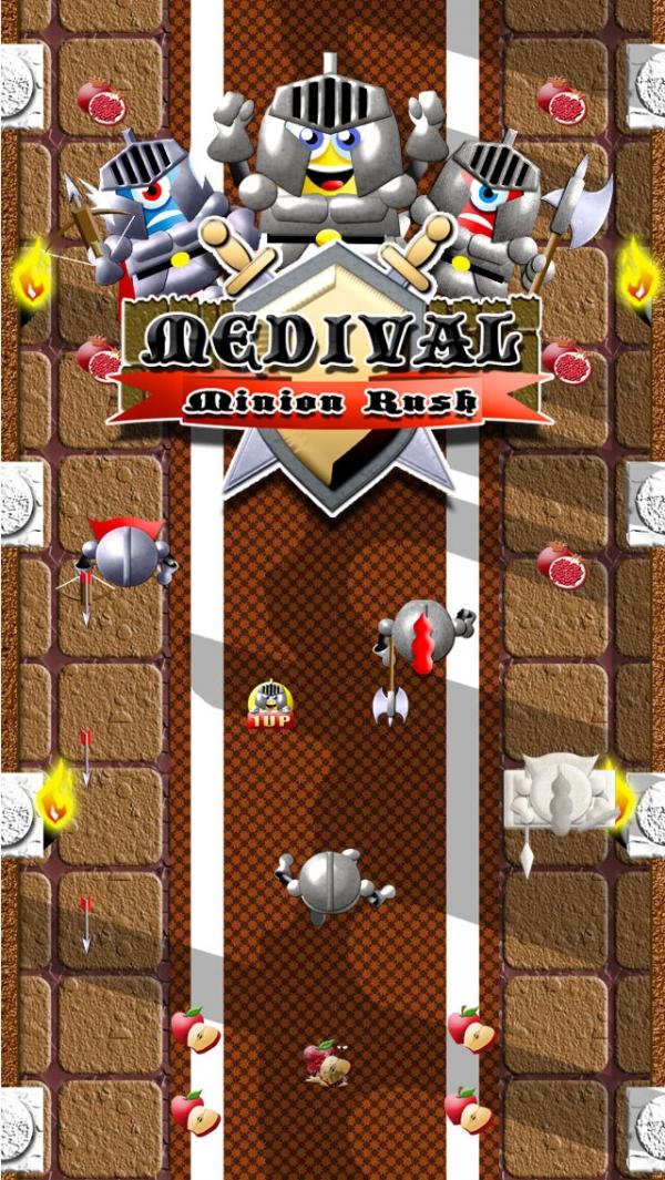 「Medieval Minion Knight Rush FREE: Glory of the Middle-Earth Dragon Kingdom」のスクリーンショット 1枚目