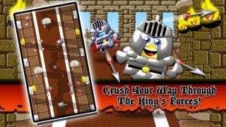 「Medieval Minion Knight Rush FREE: Glory of the Middle-Earth Dragon Kingdom」のスクリーンショット 2枚目