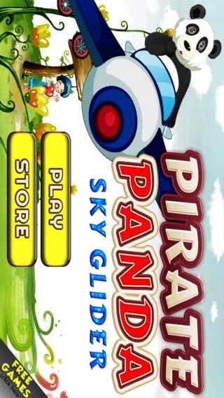 「海賊パンダスカイグライダーのHD - ベストフライINGとキッズ-S、ティーン-Sと少年-Sのレースゲーム」のスクリーンショット 2枚目