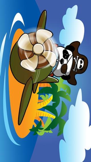 「海賊パンダスカイグライダーのHD - ベストフライINGとキッズ-S、ティーン-Sと少年-Sのレースゲーム」のスクリーンショット 1枚目