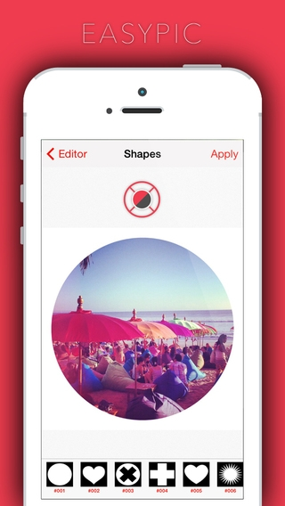 「EasyPic - photoeditor,capture & edit favourite snaps use afterlight filter n effects photoediting awesome fun!」のスクリーンショット 3枚目