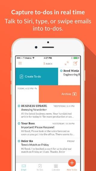 「Handle: To-do List, Inbox, and Calendar Management」のスクリーンショット 1枚目