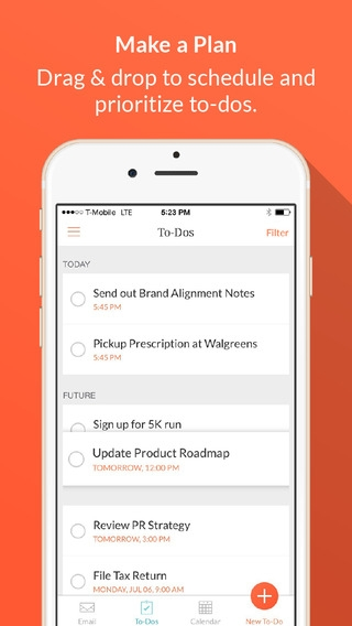 「Handle: To-do List, Inbox, and Calendar Management」のスクリーンショット 3枚目