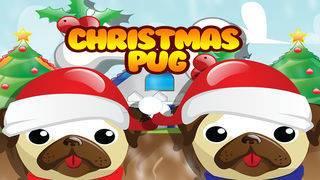 「Pet Pug Xmas Eve Run : Free」のスクリーンショット 1枚目