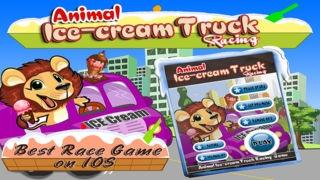「Animal Icecream Truck Racing : Free」のスクリーンショット 3枚目