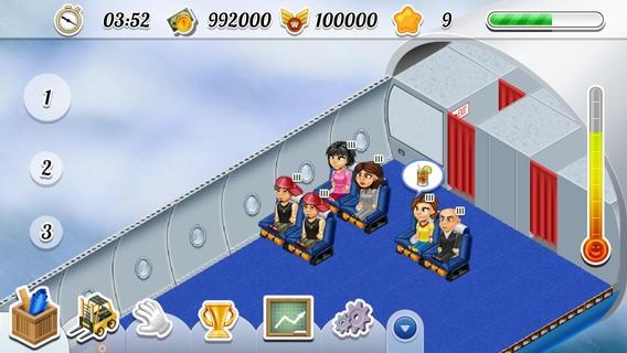 「FlightExpress for iPhone - Simulator Game」のスクリーンショット 1枚目