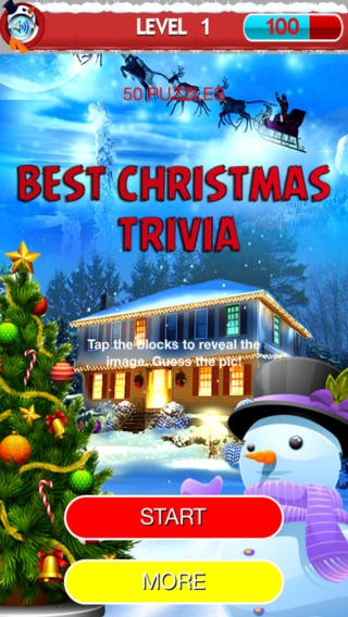 「Best Christmas Trivia: Try Imagination Strength, Ask Dynasty and Reveal Beautiful Photo」のスクリーンショット 1枚目