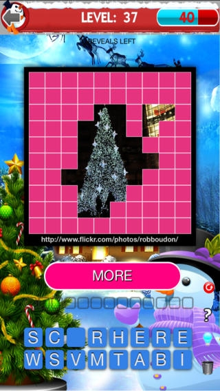 「Best Christmas Trivia: Try Imagination Strength, Ask Dynasty and Reveal Beautiful Photo」のスクリーンショット 2枚目