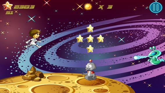 「A Little Galaxy Space Runner」のスクリーンショット 3枚目