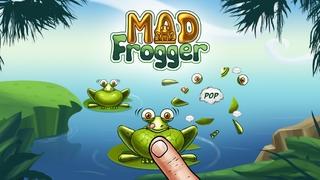 「マッドフロッガー - メガ無料カエルポップパズルゲーム」のスクリーンショット 1枚目