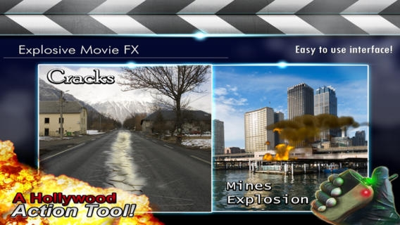 「Explosive Movie Editor」のスクリーンショット 3枚目