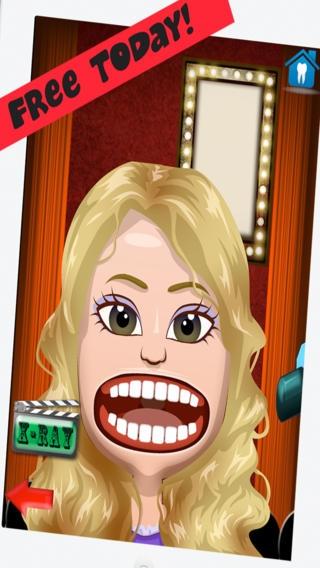 「Celebrity Dentist Office Teeth Dress Up Game - Fun Free Nurse Makeover Games for Kids, Girls, Boys」のスクリーンショット 1枚目