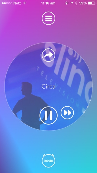 「Capsule.fm - smart, personal radio」のスクリーンショット 2枚目