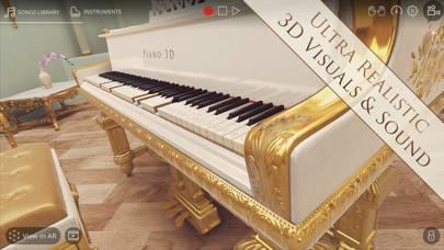 「Piano 3D - Real ピアノ AR App」のスクリーンショット 1枚目