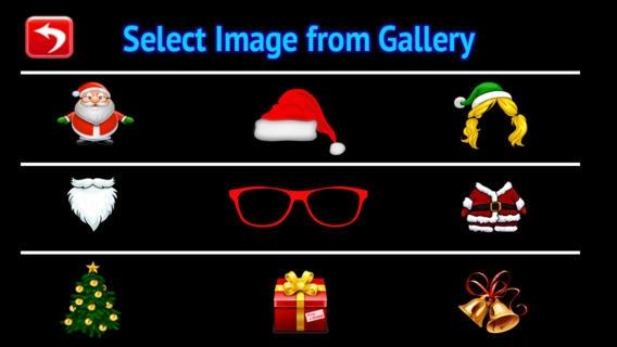 「Christmas Holiday Fun Booth ! Santa's Photo editor Plus」のスクリーンショット 1枚目