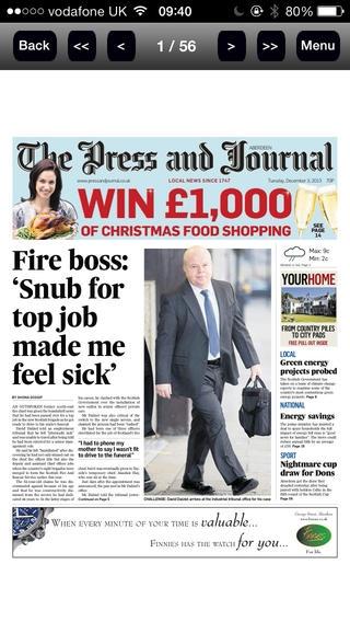 「Press And Journal Aberdeen」のスクリーンショット 2枚目
