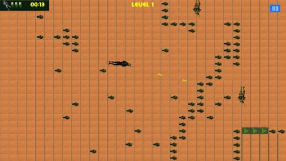 「アメリカ海軍シール対砂漠無料ゲーム - America Navy Seal Versus The Desert Free Game」のスクリーンショット 2枚目