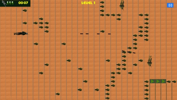 「アメリカ海軍シール対砂漠無料ゲーム - America Navy Seal Versus The Desert Free Game」のスクリーンショット 1枚目