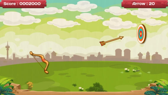 「Archery Free - Bow and Arrow Shooting Challenge Game」のスクリーンショット 2枚目