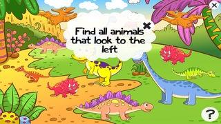 「ティラノサウルスレックス、および多く幼稚園、幼稚園や保育園のためのゲームやパズル:恐竜についての子供の年齢2-5のためのゲーム。化石、爬虫類、両生類、トカゲと先史時代の楽しい」のスクリーンショット 3枚目