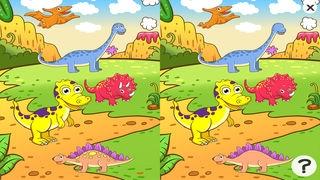 「ティラノサウルスレックス、および多く幼稚園、幼稚園や保育園のためのゲームやパズル:恐竜についての子供の年齢2-5のためのゲーム。化石、爬虫類、両生類、トカゲと先史時代の楽しい」のスクリーンショット 2枚目