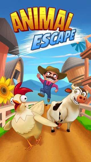「Animal Escape - Endless Arcade Runner by Fun Games For Free」のスクリーンショット 2枚目