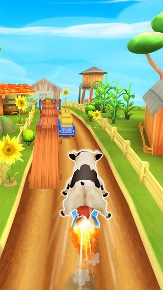 「Animal Escape - Endless Arcade Runner by Fun Games For Free」のスクリーンショット 1枚目