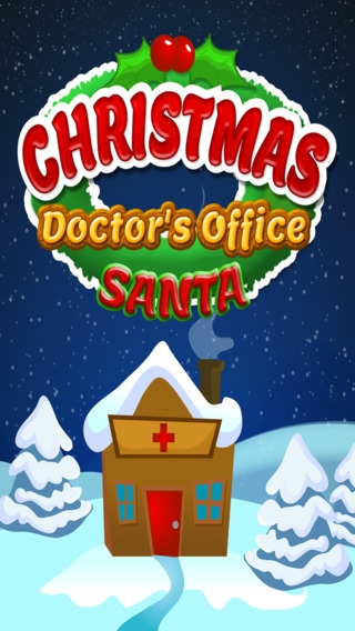 「Christmas Doctor Office Hospital - Santa & Winter Friends FREE」のスクリーンショット 1枚目