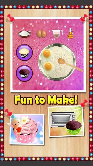 「Cupcake Mania - Cooking Games」のスクリーンショット 3枚目