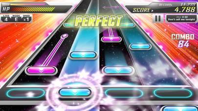 「BEAT MP3 - リズムゲーム」のスクリーンショット 2枚目