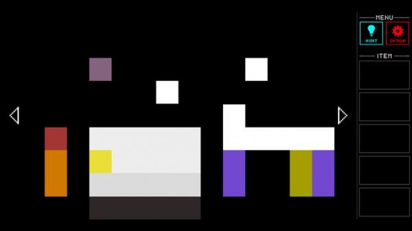 「脱出ゲーム Pixel Room」のスクリーンショット 1枚目