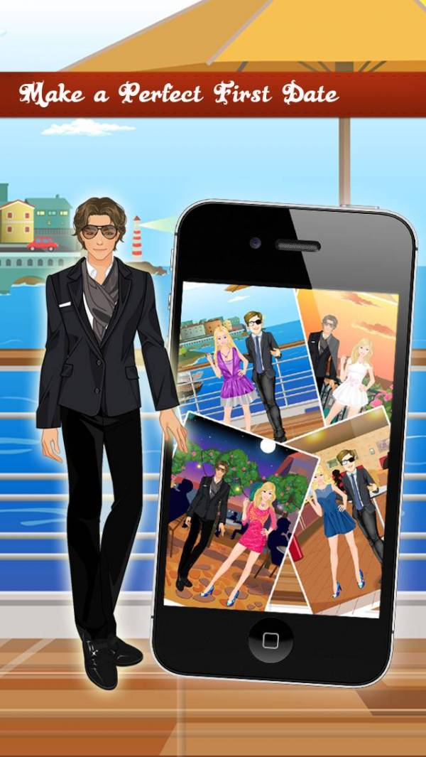 「First Date Makeover, Spa , Dress up , Free games for Girls」のスクリーンショット 2枚目