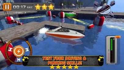 「ボート場3D - 無料運転ゲーム ( Boat Parking & Driving 3D)」のスクリーンショット 3枚目