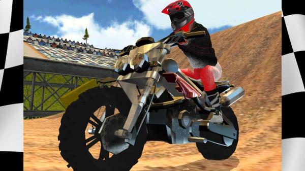 「Dirt Bike Motocross Rally Free」のスクリーンショット 1枚目
