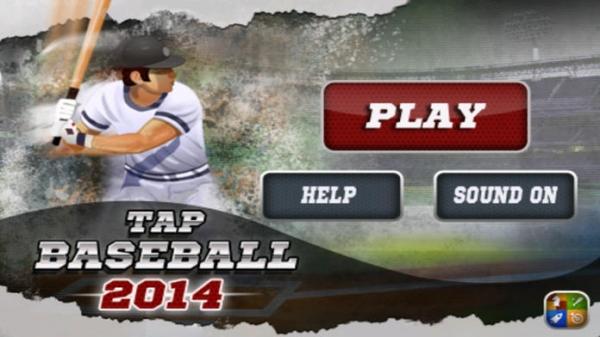 「Tap Baseball 2014」のスクリーンショット 1枚目