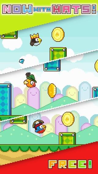 「Flappy Wings - FREE」のスクリーンショット 2枚目