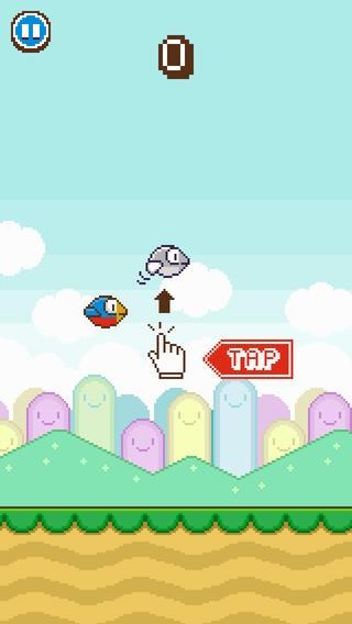 「Flappy Wings - FREE」のスクリーンショット 3枚目