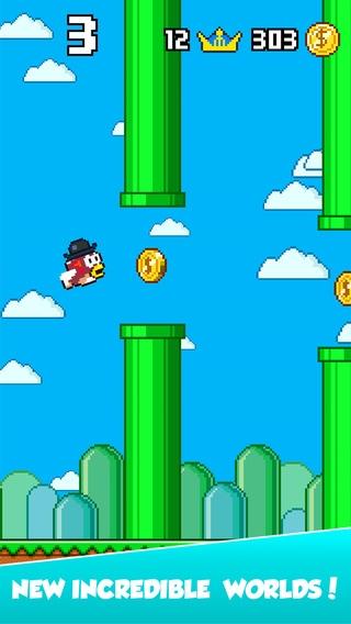「Splashy Fish - The Adventure of a Flappy Tiny Bird Fish」のスクリーンショット 3枚目