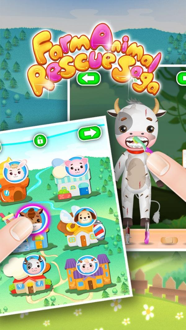 「動物獣医 - 子供のゲーム」のスクリーンショット 3枚目
