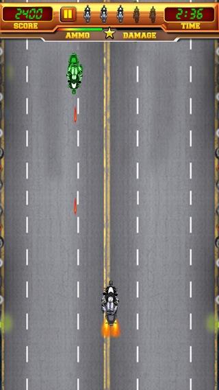「ジェットバイクブラスター - 無料バイクハイウェイ高速スピードレースゲーム」のスクリーンショット 3枚目
