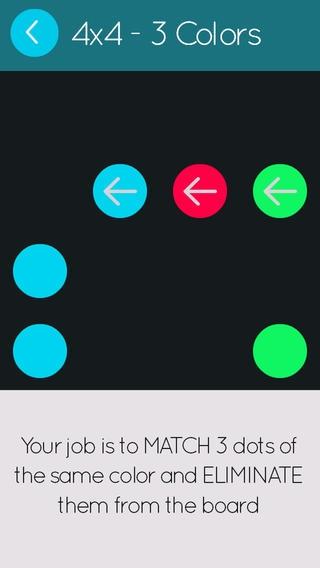 「Trios: A Match Threes Brain Teaser」のスクリーンショット 3枚目