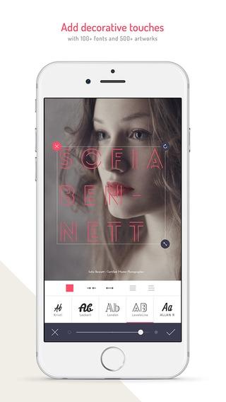 「MocaDeco - Visual Creator」のスクリーンショット 2枚目