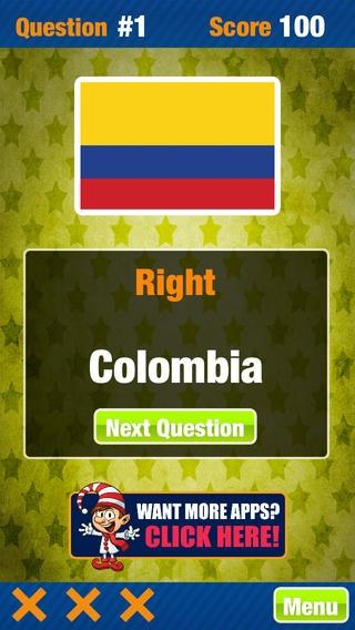 「国旗世界トリビアゲームフリーアトラスクイズゲーム」のスクリーンショット 3枚目