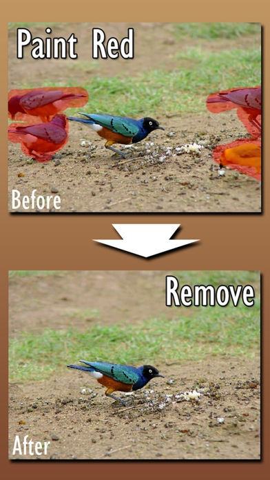 「Easy Eraser: Remove items from photo by retouching」のスクリーンショット 1枚目