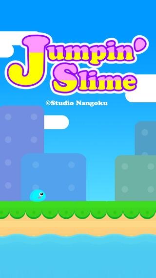 「Jumpin' Slime」のスクリーンショット 1枚目