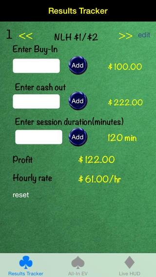 「Poker Tools - Cash」のスクリーンショット 2枚目