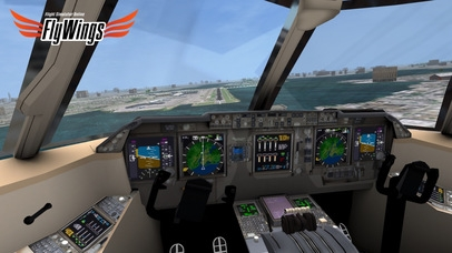 「Flight Simulator Online 2014 HD - Fly Wings - Flying in New York City, Real World」のスクリーンショット 2枚目