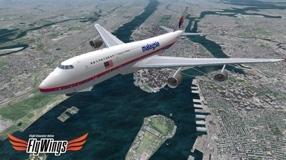 「Flight Simulator Online 2014 HD - Fly Wings - Flying in New York City, Real World」のスクリーンショット 1枚目
